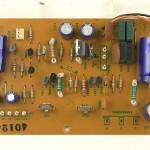 Technics (テクニクス) SP-10mk2A 電源回路基板 部品面 メンテナンス前