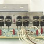 Technics (テクニクス) SP-10mk2A パワートランジスタ回路基板 部品面 メンテナンス後