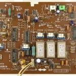 Technics (テクニクス) SP-10mk3 コントロール回路基板 部品面 メンテナンス前
