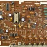 Technics (テクニクス) SP-10mk3 ドライブ回路基板 部品面 メンテナンス前